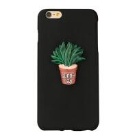MCWL  苹果6plus手机壳套iPhone6plus保护壳硅胶挂绳磨砂创意软壳