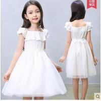 连衣裙夏装童装新款中大童儿童网纱裙子纯棉女童小女孩公主裙可礼品卡支付