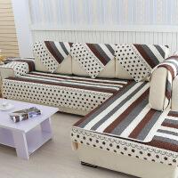 【支持礼品卡支付】组合沙发三人沙发垫套欧式全棉沙发垫英伦风情四季纯棉沙发坐垫沙发布沙发床套沙发床套罩沙发罩沙发套
