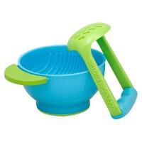 当当海外购 美国直邮 NUK 研磨碗 nuk freshfoods宝宝辅食研磨器婴儿手动辅食研磨碗