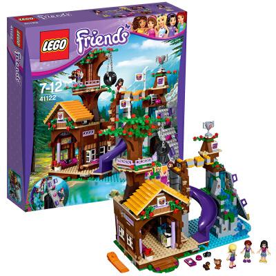 [当当自营]LEGO 乐高 好朋友系列 冒险营地树屋 积木拼插儿童益智玩具 41122【当当自营】2016年新品!适合7-12岁,726pcs小颗粒积木