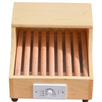 学生烤火炉实木取暖器电暖脚器烤火箱家用烤火炉