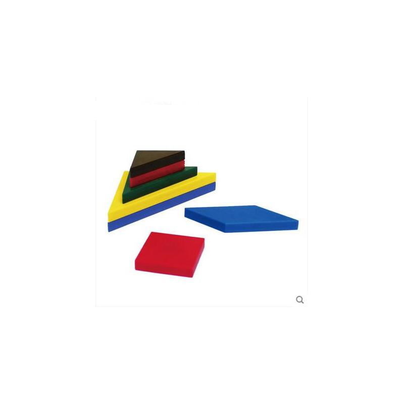 磁性艺术七巧板 现代智力拼图拼板150道题合作游戏儿童益智玩具画