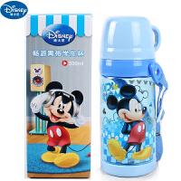迪士尼DISNEY米奇儿童水杯夏季防漏带盖直饮便携塑料杯学生5849水杯500ML