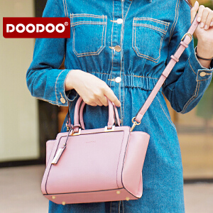 【支持礼品卡】DOODOO 包包2017新款日韩简约时尚女士手提百搭单肩斜挎女包翅膀包 D6171