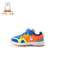 Miffy米菲秋冬童鞋儿童运动鞋小童男童休闲鞋女童加绒二棉鞋