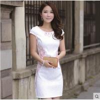 夏季女民族风结婚伴娘小礼服日常改良旗袍连衣裙中长短款修身可礼品卡支付