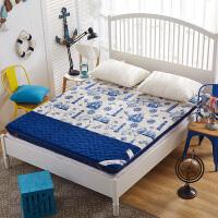 加厚法莱绒榻榻米床垫单双人学生宿舍床褥子1.5/1.8m被褥垫被