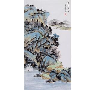 常粟(碧水清溪)河南省美术家协会会员