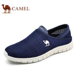 camel骆驼男鞋 2017夏季新品 透气飞织网布鞋百搭 时尚休闲健步鞋