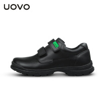 UOVO儿童运动鞋2017春秋新款儿童黑色小皮鞋中童小学生童鞋休闲鞋 霍格沃茨