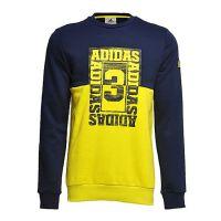 adidas阿迪达斯新款专柜同款男大童套头衫AZ8606