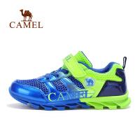 骆驼童鞋春夏男女童中童网布运动鞋儿童透气休闲跑鞋
