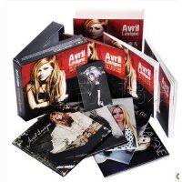 【现货】艾薇儿 巨星套装 5CD 48页笔记本 收藏编号卡