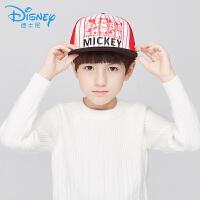 迪士尼儿童棒球帽子春秋宝宝棒球帽遮阳米奇帽