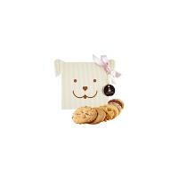 【年货】诗特莉宝贝狗125g 台湾进口牛奶巧克力燕麦手工喜饼饼干休闲零食品