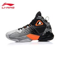 李宁篮球鞋2017新款封锁耐磨防滑战靴高帮男鞋运动鞋ABAM035