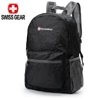 SWISSGEAR瑞士军刀折叠包 男女款双肩背包旅游包 便携皮肤包