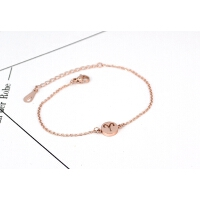 韩国简约18K玫瑰金星座手链之白羊座 送闺蜜情侣