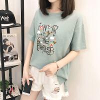 2017短袖t恤女韩版衣服夏装2017新款打底体恤衫短袖上衣女