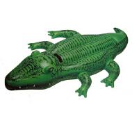 INTEX小鳄鱼坐骑58546 充气坐骑 座骑 儿童游泳圈 充气玩具
