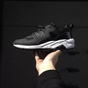 【正品授权】新百伦阿迪 新款男鞋经典黑色系潮流N字鞋跑步鞋