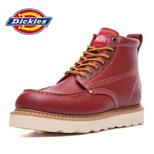 Dickies新款潮流男士高帮工装鞋商务休闲男靴 164M50LXS34