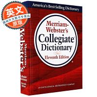 韦氏大学英语词典【现货】英文原版英英字典 Merriam-Webster's Collegiate Dictionary 韦氏词典 韦氏英文词典 GRE必备