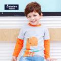 托马斯童装男童2017春新款长袖T恤纯棉t恤衫卡通休闲中童打底衫托马斯和朋友