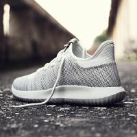 领舞者2017新款椰子鞋透气网布运动跑步休闲鞋男