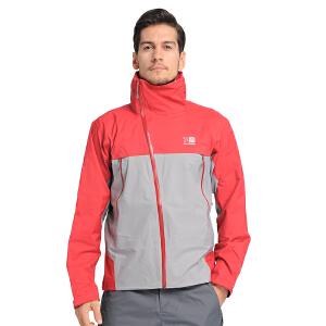 凯瑞摩karrimor 冲锋衣男士防寒户外服装防水防寒服保暖拼接外套