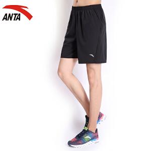 安踏男裤运动短裤男装夏季简约运动休闲跑步裤男士短裤15625310
