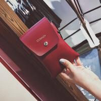 韩版个性手机袋挂脖斜挎包手机包女2017新款迷你小包单肩零钱包女