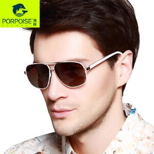 海豚新款男女士太阳眼镜 大框蛤蟆偏光镜时尚户外驾驶墨镜3360