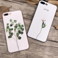 【支持礼品卡】艺女iPhone7手机壳硅胶苹果6splus浮雕全包韩国6简约防摔5s新款iPhone7手机壳