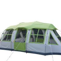 户外8人防雨双层野外露营装备家庭大帐篷套装