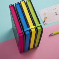 A5创意记事本多色绑带本手账本带笔套装文具笔记本子可定制