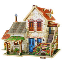 3d立体拼图木质木制儿童智力玩具益智手工成人模型