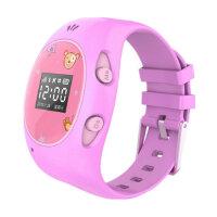 ICOU艾蔻I2-豪华版 儿童智能定位手表 电话 可拆卸表带 智能电话学生小孩GPS追踪跟踪智能穿戴手环新增wifi定位更精确 三代儿童定位