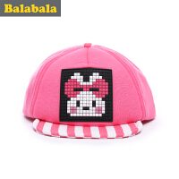 巴拉巴拉女童帽子儿童 可爱时尚帽童帽2017 春季新款童装帽子女