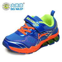 大黄蜂童鞋 春秋新款儿童运动鞋网面男童跑步鞋透气女童小孩