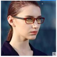 钨碳塑钢眼镜框 眼镜框时尚防辐射眼镜男 女款超轻大框眼镜架潮
