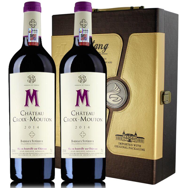 【圣克曼葡萄酒】十字木桐波尔多干红葡萄酒