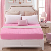 床笠单件加厚夹棉1.5 1.8m床罩席梦思保护套1.2m床套床垫套可调节