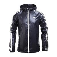 Adidas阿迪达斯  男子训练运动休闲夹克外套  BR1566  现