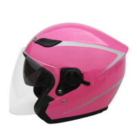 防雾半盔防晒安全帽双镜片摩托车头盔男女电动车头盔四季冬季