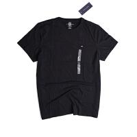 Tommy Hilfiger /汤米 T恤衫男士新款t恤夏季新款t恤纯棉t恤纯色舒适短袖T恤