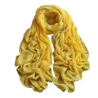 围巾披肩棉麻长款季学生森女风冬天印花丝巾百搭