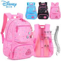 迪士尼冰雪书包小学生女生3-6年级儿童休闲包减压护脊双肩包