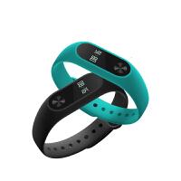 小米手环2代智能手环触屏心率运动腕带计步器蓝牙防水男女手表